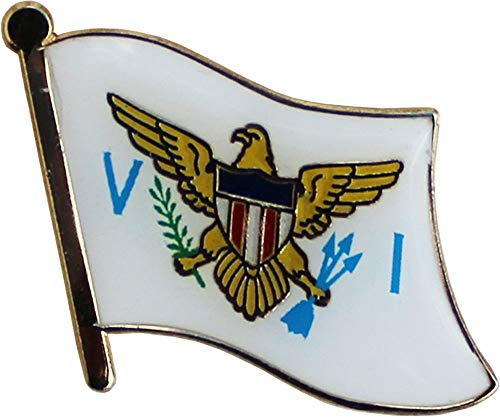 Flagline US Virgin Islands - National Lapel Pin