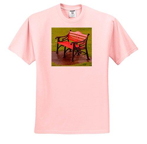 6152c9a869 Galleon - 3dRose Danita Delimont - Gardens - Ireland, Red, Bench - T-Shirts  - Light Pink Infant Lap-Shoulder Tee (24M) (TS_277535_73)