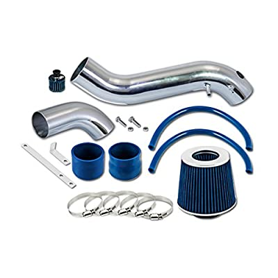 Velocity Concepts Blue Short Ram Air Intake Kit + Filter 02-05 GMC Envoy 4.2L 256Cu. In. l6 V6: Automotive