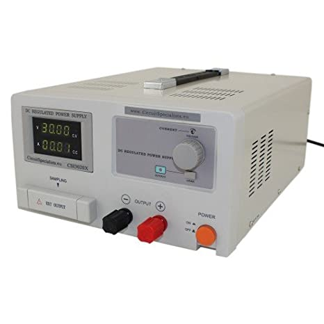 Heavy Duty DC Regulated Bench Power Supply 0-30V 0-20A Adjustable Current  Limit