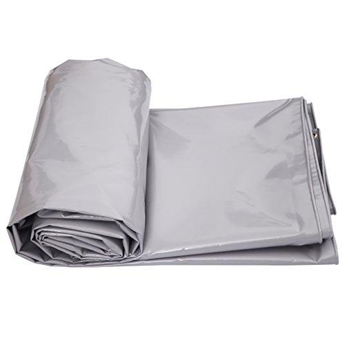 バーベキュー夜明けに獲物ターポリン高強度厚いPVC防雨トラック区画貨物ヤードヤードテント布屋外0.6ミリメートル650グラム/m2グレー5サイズ (サイズ さいず : 3*2m)