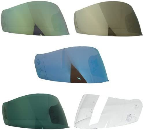 HJC HJ-07 Shield // Visor Gold,Silver,Blue,Smoke,Clear,for CL-14,FG-14,CL-MAX,AC-11 Gold Bike Racing Motorcycle Helmet Accessories Made in Korea