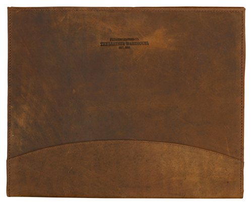 LEATHER WAREHOUSE Handmade Multipurpose Portfolio