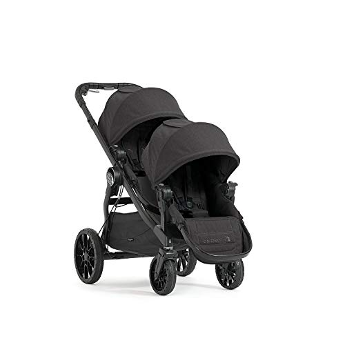 Baby Jogger City Select Double Stroller | Baby Stroller with 20 Ways to Ride, Included Second Seat | Quick Fold Stroller…