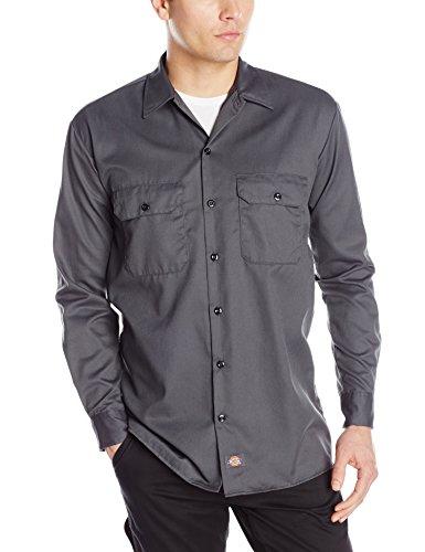 Dickies Mens Big Tall Long Sleeve Shirt