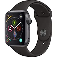 Apple Watch Series 4-40mm Space Gray Aluminum Case with Black Sport Band, GPS + Cellular, watchOS 5