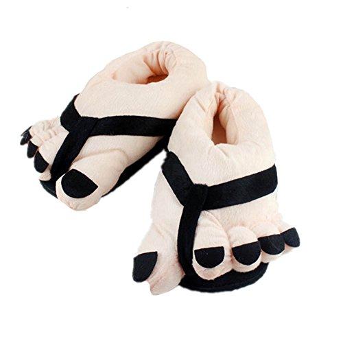 Forma Morbide ve Adulti Black Tia A Di Per Pantofole Invernali xwIxq0B