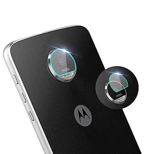 for Motorola Moto Z3 Play Back Camera Lens Screen Protector Tempered Glass,[2PAK] Camera Shot Protective Film for Motorola Z3 Play from For Moto