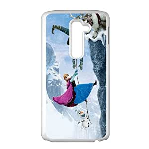 Frozen Cartoon0 LG G2 Cell Phone Case White TPU Phone Case SY_740678