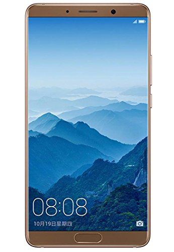 Huawei Mate 10 128GB – Dual SIM [Android 8.0, 5.9″ IPS LCD, 6GB RAM, Hisilicon Kirin 970 , Dual 20 MP +12 MP, 4000mAh] Factory Unlocked International Version – GSM ONLY, NO CDMA (Brown)