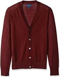 Men's Italian Merino Wool Lightweight Cashwool Cardigan...