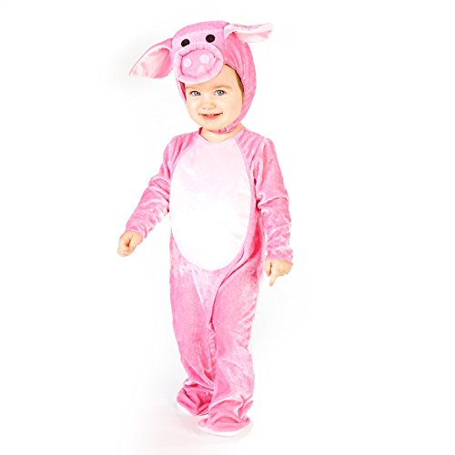 [Little Piggy Toddler Dress Up Costume 2-4T] (Little Pig Costumes)