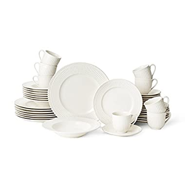 Mikasa Italian Countryside 40-Piece Dinnerware Set, Service for 8