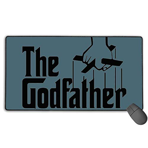 GGlooking Mousemat The Godfather Mouse Pad Gaming Mat Computer Mousepad Large Non-Slip Keyboard Desk Accessories,Office & School Supplies