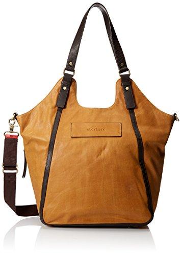 Storksak UK Edition Ellena Diaper Bag - Twisted Tan Leather