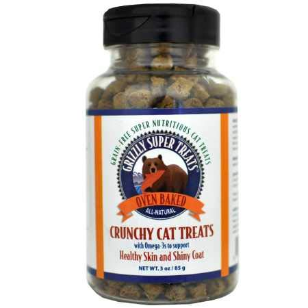 Grizzly Super Treats Omega3 for Cats (3 oz)