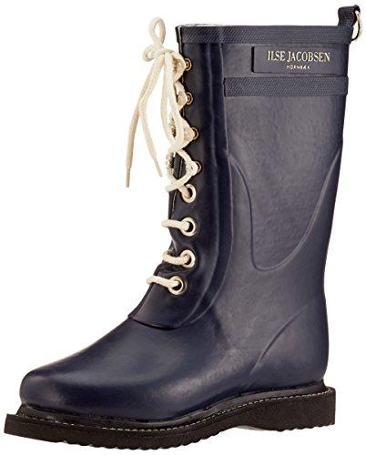 Ilse JacobsenDamen 3/4 Gummistiefel, RUB15 - Stivali di Gomma a metà Polpaccio Donna Blau (Dunkelindigo)