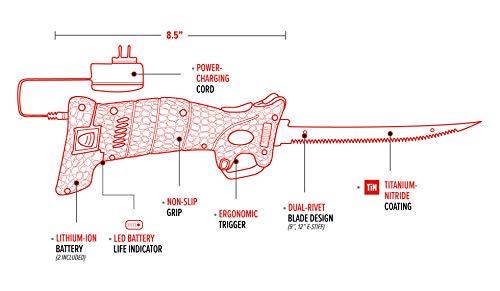 Bubba Li-Ion Cordless Electric Fillet Knife