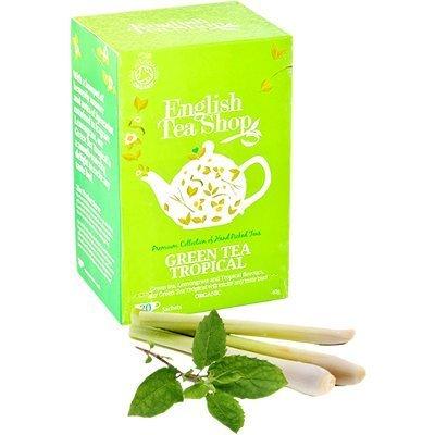 English Tea Shop - Green Tea Tropical - 20 Sachet Envelope - 40g ()