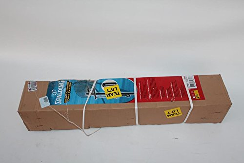Spalding 88300S ExactaHeight Adjustable Pole Basketball Hoop System ()