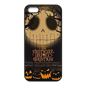 iPhone 5 5s Black Cell Phone Case The Nightmare Before Christmas KVCZLW0980 Plastic Phone Cases Fashion