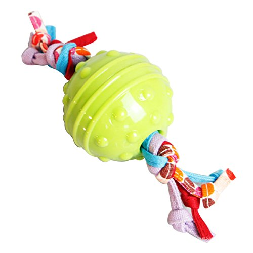 SHOWHASH Pet Buddies Ball Toy - Ball Dog Toy - Produced From Food-grade - BPA-free TPR Material (green)