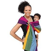 Maya Wrap Lightly Padded Ring Sling Baby Carrier - Dorothy - Medium