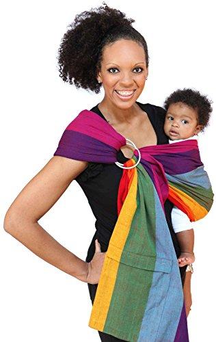 Maya Wrap Lightly Padded Ring Sling Baby Carrier - Dorothy - Medium (Maya Wrap Slings)