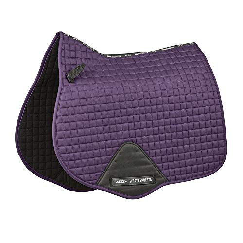 (Weatherbeeta Prime All Purpose Saddle Pad (Full) (Purple)