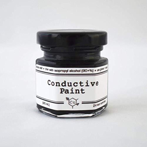 Conductive Paint for Electroforming | Sm/Med Jar Graphite Conductive Paint for Electroformed Jewelry | Copper Electroformer Supply