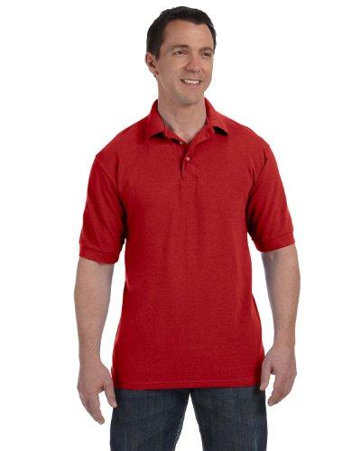 UPC 766369140534, Men's 7 oz Hanes STEDMAN Cotton Pique Polo