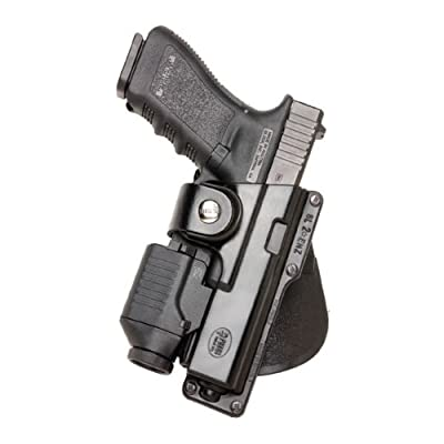 Fobus Roto Tactical Speed Holster Belt Left Hand GLT17RBL Glock 17,22,31 / Ruger 345 / Berretta PX Storm / S&W M&P Full Size / Berretta PX4 Storm Full Size / S&W 99 Full Size 9/40/45 / Walther 99 Full Size 9/40 S&W M&P Compact / Sig 226 holds Handgun with
