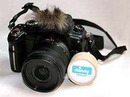 Micromuff Skinny - Mini antivientos para micrófono de cámara ...