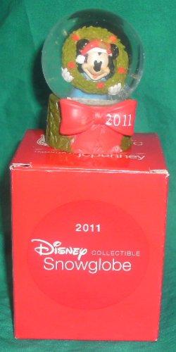 2011 JC Penney Mickey Mouse Christmas Snowglobe