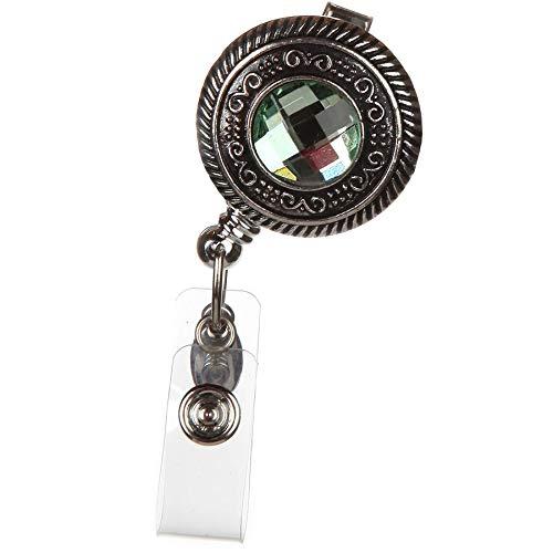 Vintage Round Badge Reel