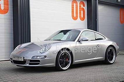 Amazon.com: Staggered Set of Fuchs Porsche Wheels 18x8 / 18x10 Black Center - Polished Outer - ORIGINAL: Automotive