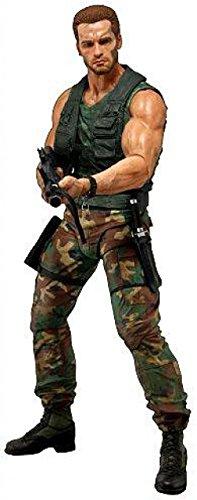 NECA Predators Dutch Arnold Schwarzenegger Action Figure, 1/4 Scale -