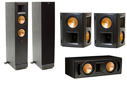 Klipsch Reference RF-62 II 5.0 Channel Surround Speaker Bundle