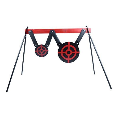 - Steel Target Stand for AR500 Targets and Gongs - Folding Metal Legs For Easy Transport
