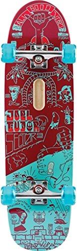 Sector 9 Tudor Mini Good Vibes Red Longboard - 9.25x31.5