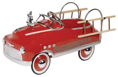 Fire Truck Fire Fighter Engine 23 Pedal Car