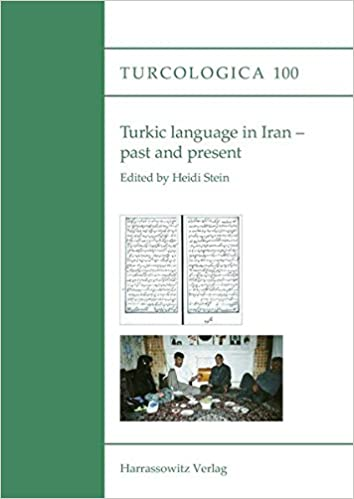 Book Turkic Language in Iran - Past and Present (Turcologica)