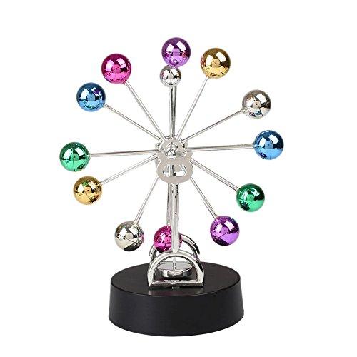 [UNAKIM-Newtons Cradle Balance Balls Physics Science Desk DIY Decoration Accessory] (Georgia Bulldogs Perpetual Calendar)