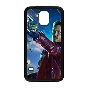 Personality customization TPU Case with Guardians Of The Galaxy Samsung Galaxy S5 Cell Phone Case Black