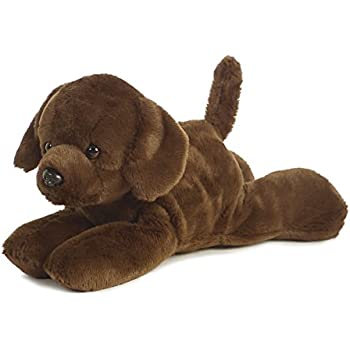 Amazon Com Gund Chocolate Labrador 14 Medium Plush Toys Games