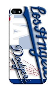 The Best And Newest Hard Case iphone 5/5s For Customizable Baseball Los Angeles Dodgers