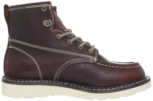 Dickies Mens Trader 6 Leather Boot,Burgandy,10.5 M US
