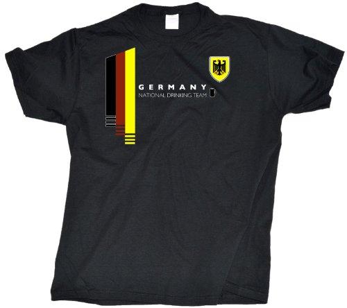 Ann Arbor T-Shirt Co. Men's Germany National Drinking Team T-Shirt