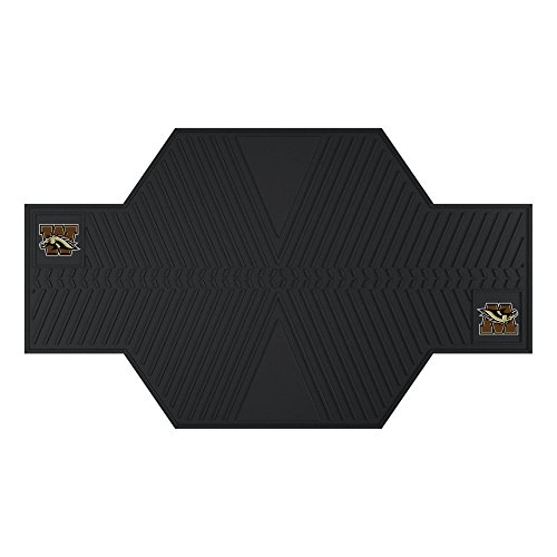 NCAA Western Michigan University Motorcycle Mat, 82.5'' x 42''/Small, Black by Fanmats