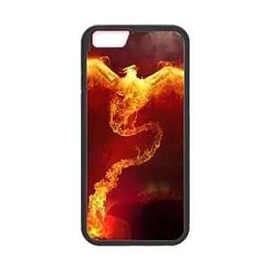 Phoenix Digital Art0 iPhone 6 Plus 5.5 Inch Cell Phone Case Black Customized Toy pxf005_9686888